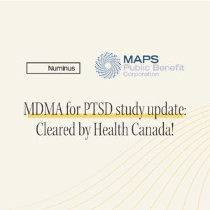 MDMA for PTSD study with MAPS